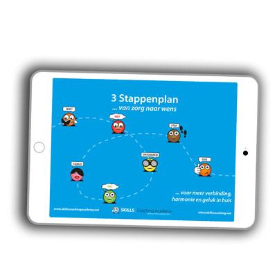 Gratis E-book - 3 stappenplan ... van zorg naar wens